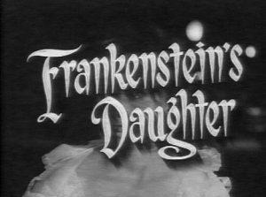 La hija de Frankenstein