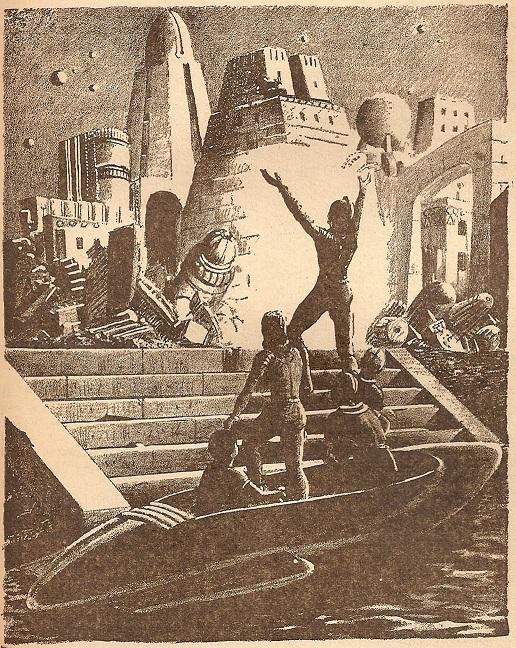 """""""The Million Year Picnic"""" de Crónicas marcianas"""" de Bradbury"""