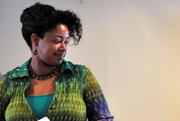 N.K. Jemisin, doble ganadora del premio Hugo.