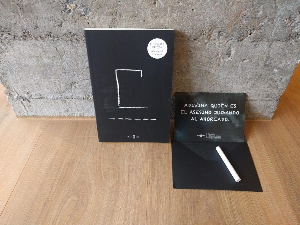 Maravillosa edición de Plaza & Janes de El hombre de tiza.
