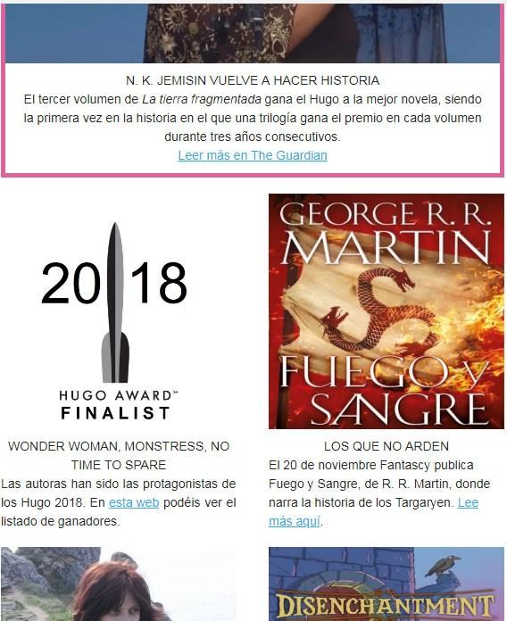 Newsletter de Origen Cuántico