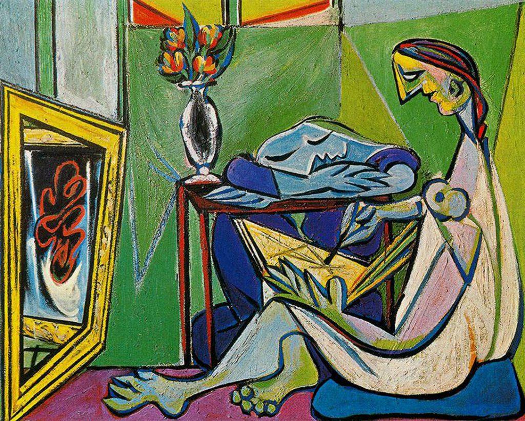 La musa de Picasso.
