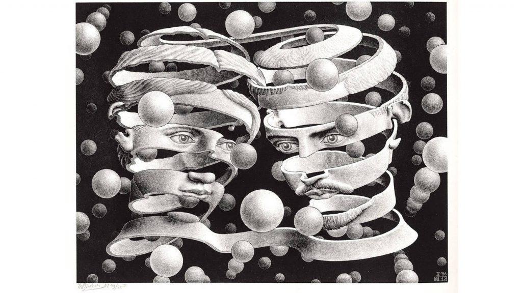 Las perspectivas imposibles de Escher.