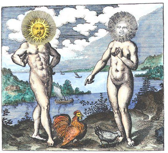 Sol y Luna, las 2 principales Materias de la Gran Obra,